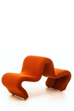 La Cividina - LaCividina Dos à Dos Louvre Pierre Paulin, petit fauteuil